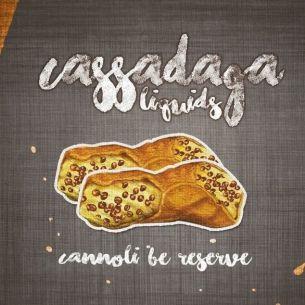 Cannoli Be Reserve 50ml 0mg - Cassadaga Liquids